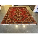 Image of Large Hand Knotted Persian Rug - 6'11x10'0