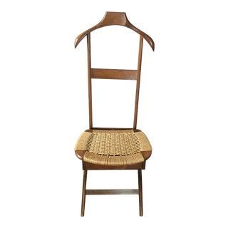 Mid Century Italian Ico & Luisa Parisi Fratelli Reguitti Valet Chair