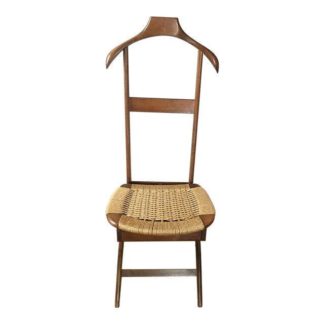 Mid Century Italian Valet Chair - Image 1 of 7
