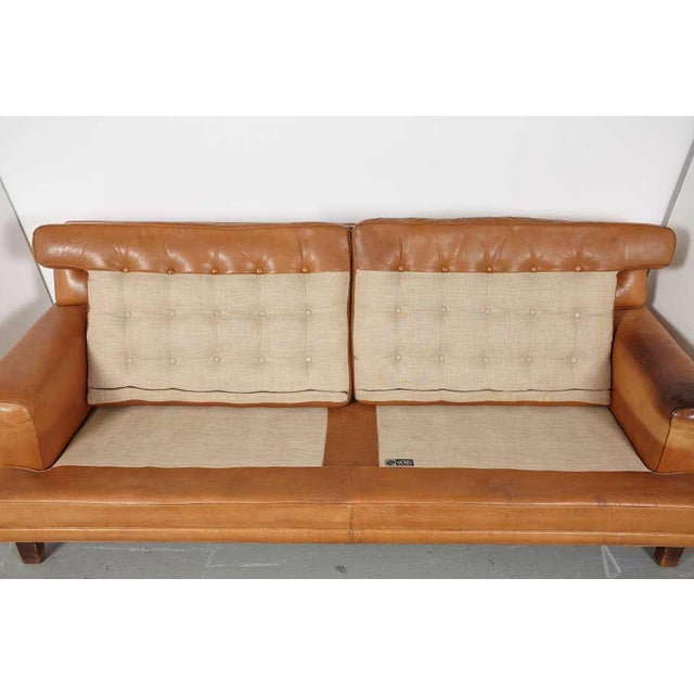 Arne Norell Merkur Sofa & Matching Lounge Chairs - Set of 3 - Image 8 of 9