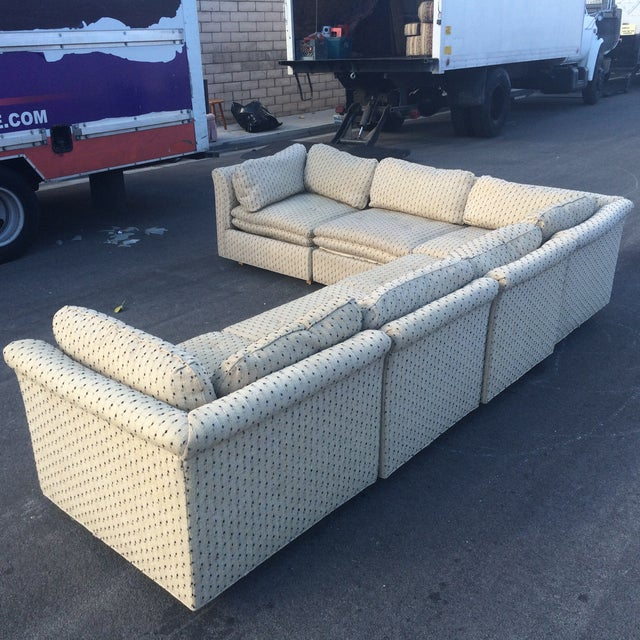 Image of Sherrill Furniture Contemporary Six-Part Sectional