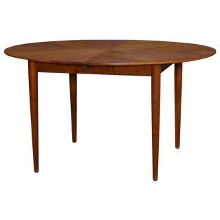Baker Mid-Century Walnut Dining Table