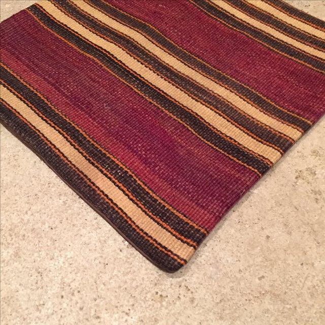 Image of Vintage Striped Kilim Pillow Case