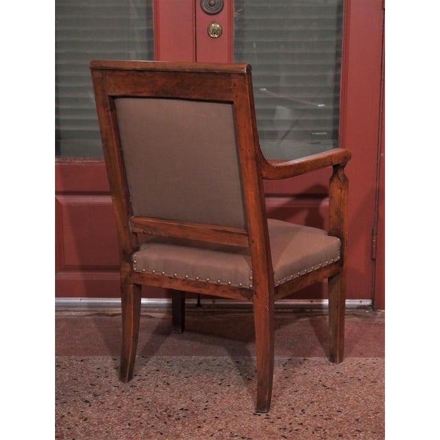 19th Century Directoire Style Armchairs - Pair - Image 4 of 6