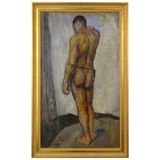 Male Nude Painting by Faye Swengel Badura