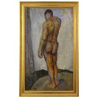 Male Nude Painting by Faye Swengel Badura