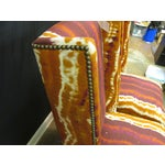 Image of Hickory Modified Wing Back Chairs - A Pair