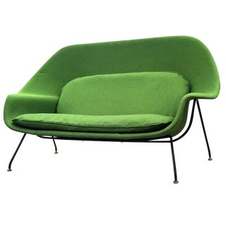 Vintage Eero Saarinen for Knoll Womb Settee Sofa