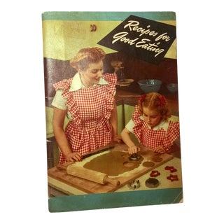 """Vintage Crisco Cook Book """"Recipes for Good Eating"""", 1945"""