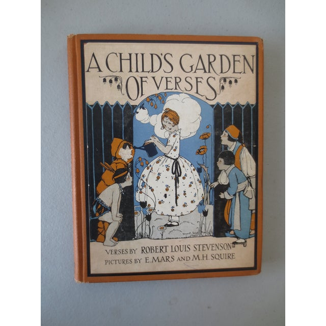 Image of A Child's Garden of Verses Book by R.L. Stevenson