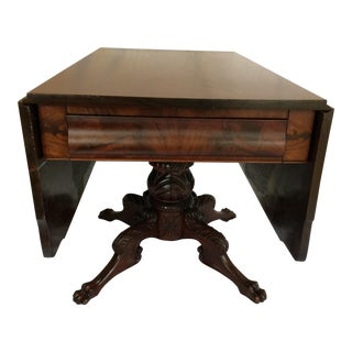 1820's American Federal Drop Leaf Breakfast Table