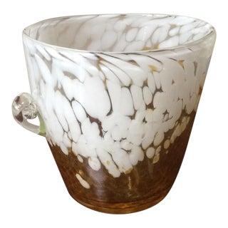 Murano Glass Ice Bucket or Vase