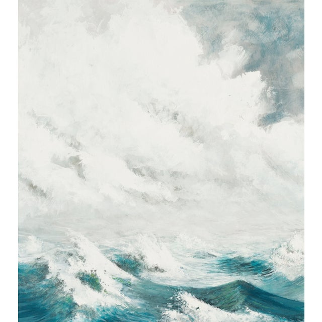 Oil Painting - A Stiff Breeze, 1966 - Image 3 of 6