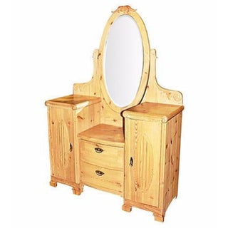 Antique Danish Pine Vanity