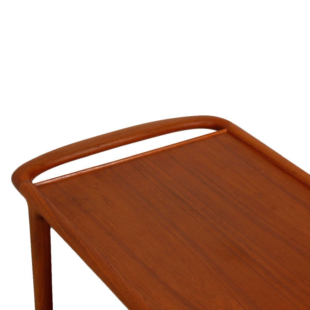 Niels Moller Danish Modern Teak Side Table | Chairish