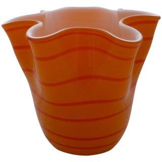 Italian Fazzoletto Handkerchief Vase
