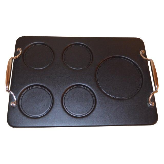 Image of Vintage Black Bar Tray