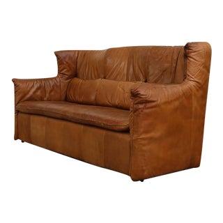Gerard Van den Berg Natural Leather Sofa