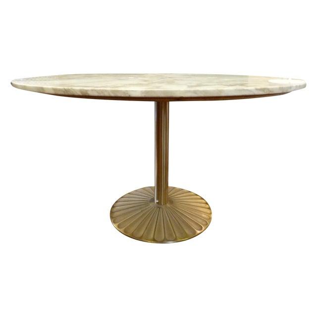 Scallop Base Italian Marble Dining Table Chairish