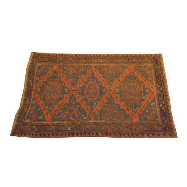Image of Antique Soumak Kilim - 6' x 9'