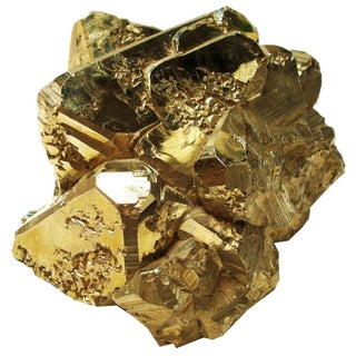 Large Gold Pyrite Formation