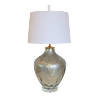 Golden Mercury Glass Lamp