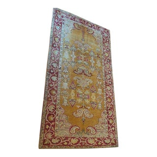 Antique Anatolian Turkish Rug - 3′6″ × 6′9″