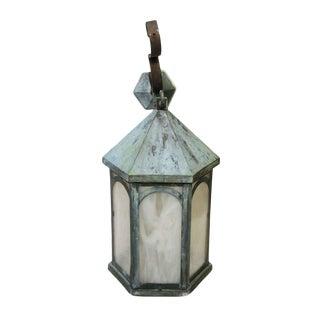 Antique Lantern Sconce