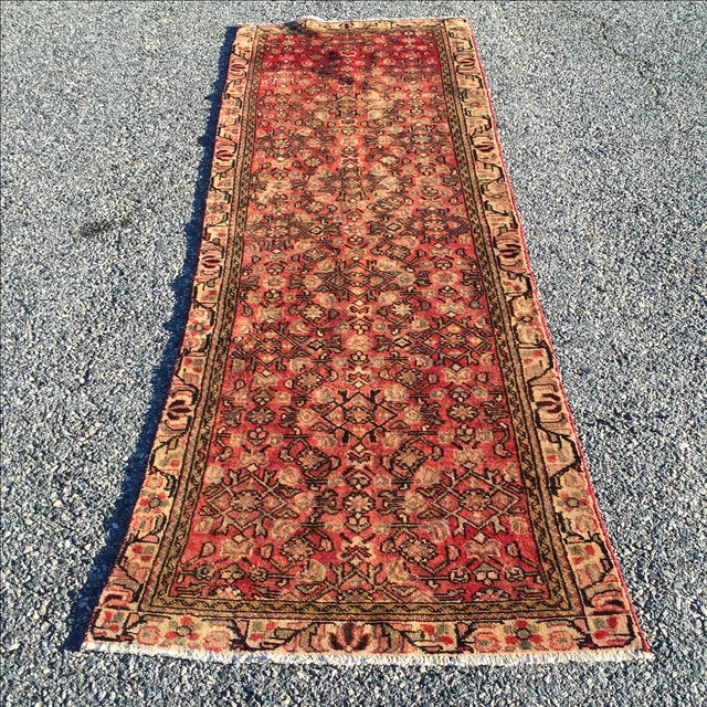 "Image of Hamadan Persian Runner - 2'11"" X 9'8"""