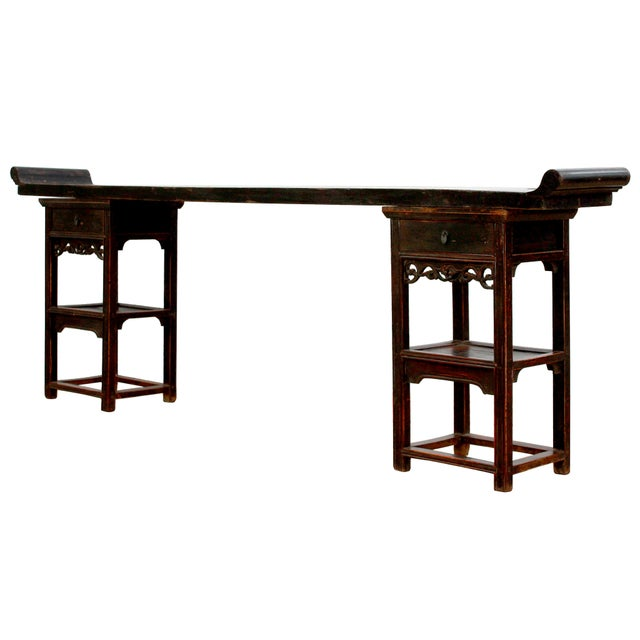 Image of Antique Sarreid LTD Chinese Ming Style Console Table