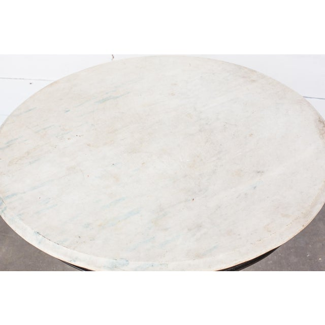 Anglo-Indian Marble Top Table - Image 3 of 6