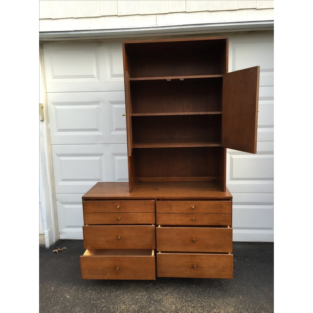 Paul McCobb Style Mid-Century Credenza With Hutch - Image 6 of 11