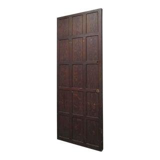 15-Panel Wood Door