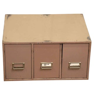Metal 3-Drawer Filing Cabinet