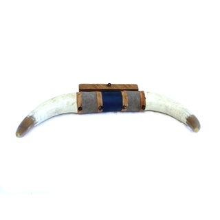 Vintage Longhorn Bull Horns Steer Wall Hanging