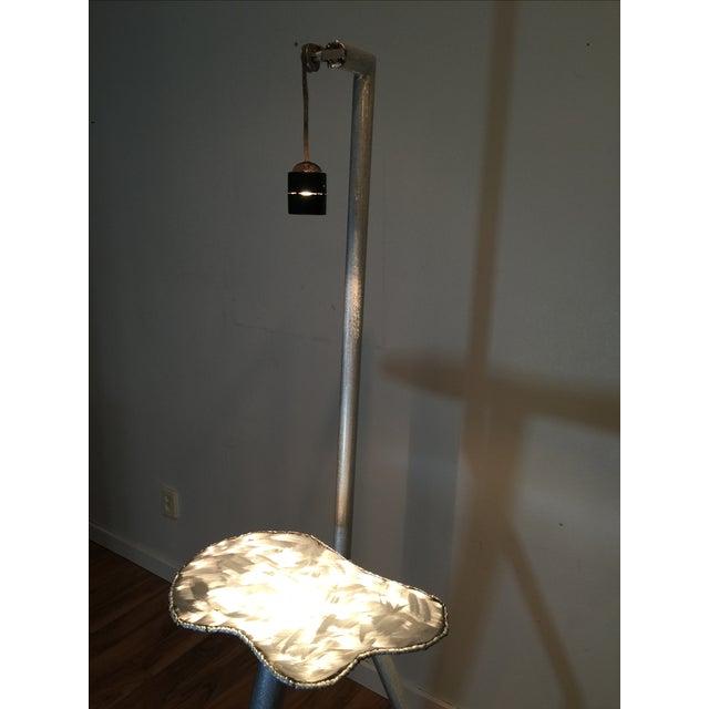 Brushed Steel Illuminated Art Pedestal - Image 7 of 11