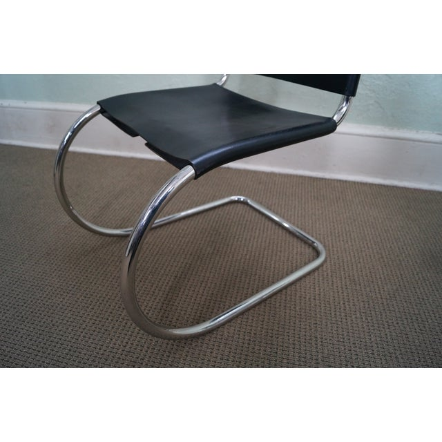 Knoll Mies Van Der Rohe Side Chairs - A Pair - Image 8 of 10