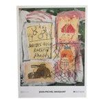 Jean Michel Basquiat Original Offset Lithograph Print Poster