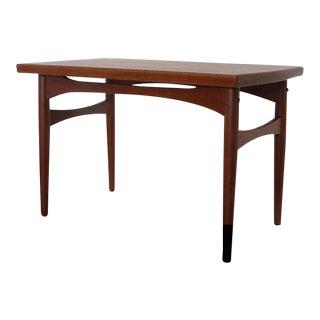 Mid-Century Modern Walnut Side Table