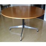 Image of Original Eames Round Table by Herman Miller