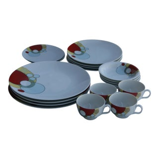 Frank Lloyd Wright for Noritake Imperial Hotel Dinnerware - 18 Pc.