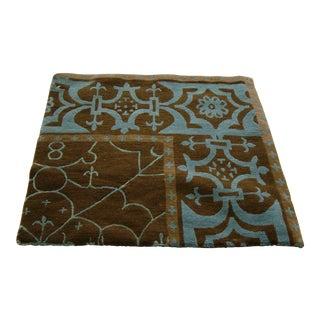 "Marcphilips Castille Walnut Wool Hand Woven in Nepal Rug - 19'3"" x 20'6"""