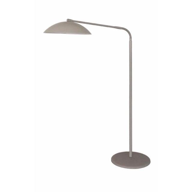 Kurt versen gooseneck floor lamp chairish - Gooseneck floor lamps for reading ...