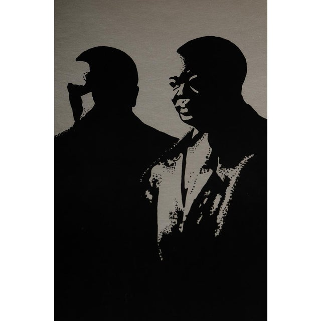 Image of Study of Louis Armstrong, Original 1976 Poster