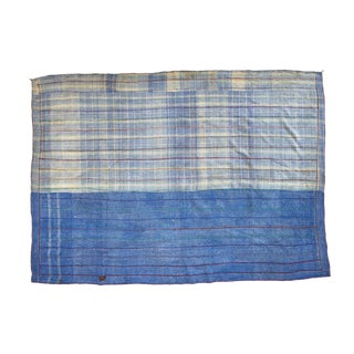 Indian Reversible Hand-Stitched Kantha Patchwork Throw