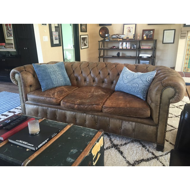 19th century chesterfield sofa chairish