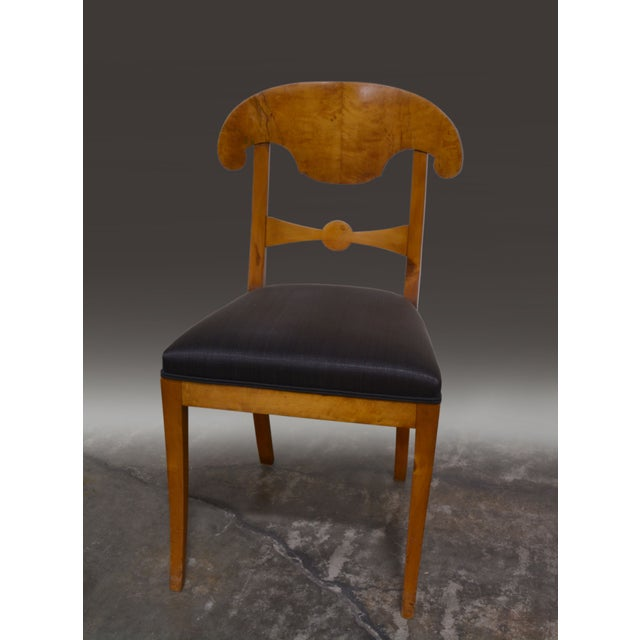 Biedermeier Dining Chairs - Set of 4 - Image 2 of 6