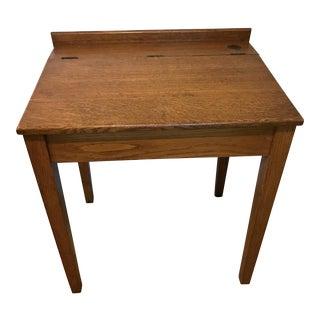 Antique Oak Writing Desk