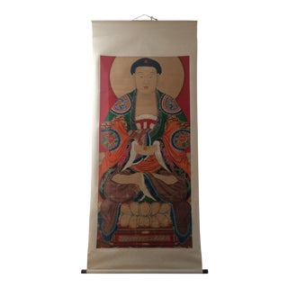 Antique Buddha Painting