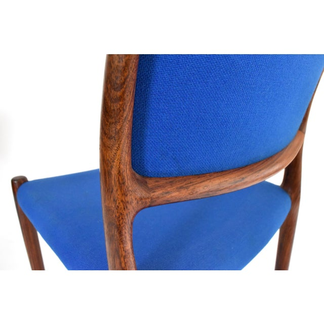 Danish Modern Niels Moller #80 Rosewood Dining Chairs - Set of 4 - Image 9 of 10